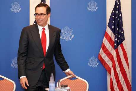 美国财政部长努钦。资料图片