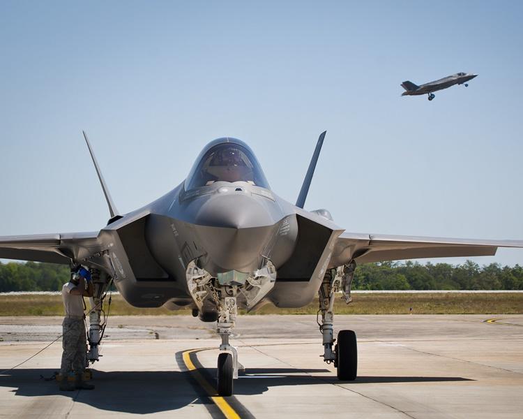 美國「F-35」先進戰機。網圖