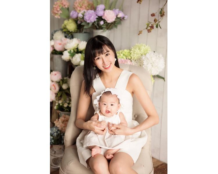 趙哲妤樂做單親媽媽。