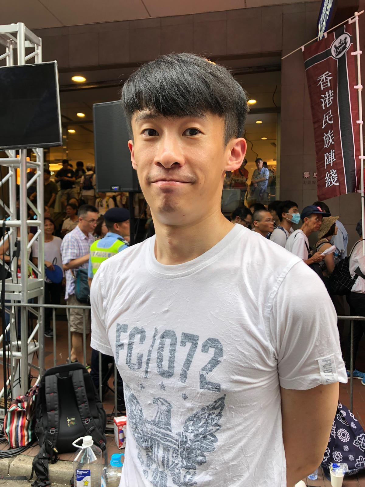 梁頌恆認為條例本身將香港推入死路。