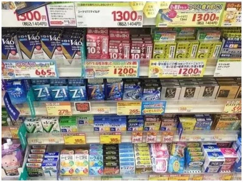 多個日本眼藥水品牌被加拿大禁售。微博