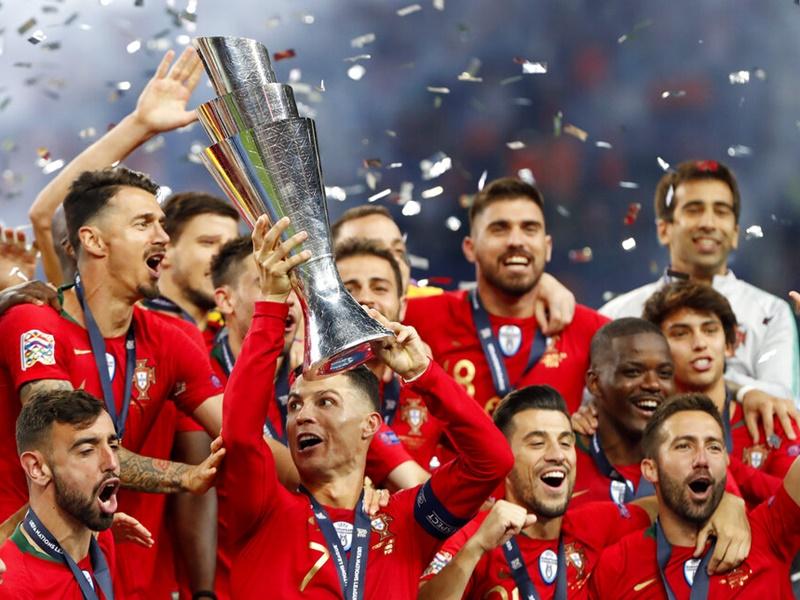 葡萄牙奪首屆歐洲國家聯賽冠軍。AP