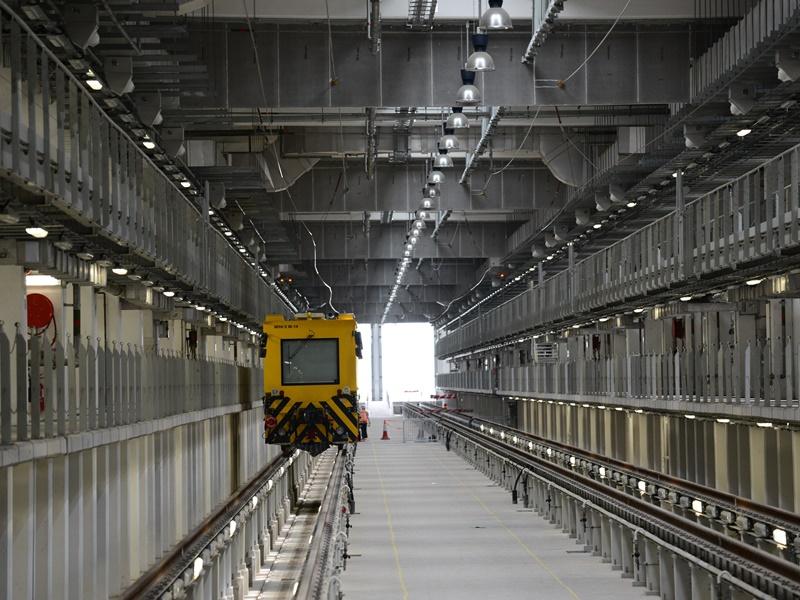 港鐵石崗車廠。資料圖片
