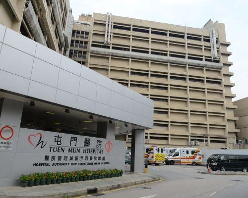 老翁送到屯門醫院搶救。 資料圖片