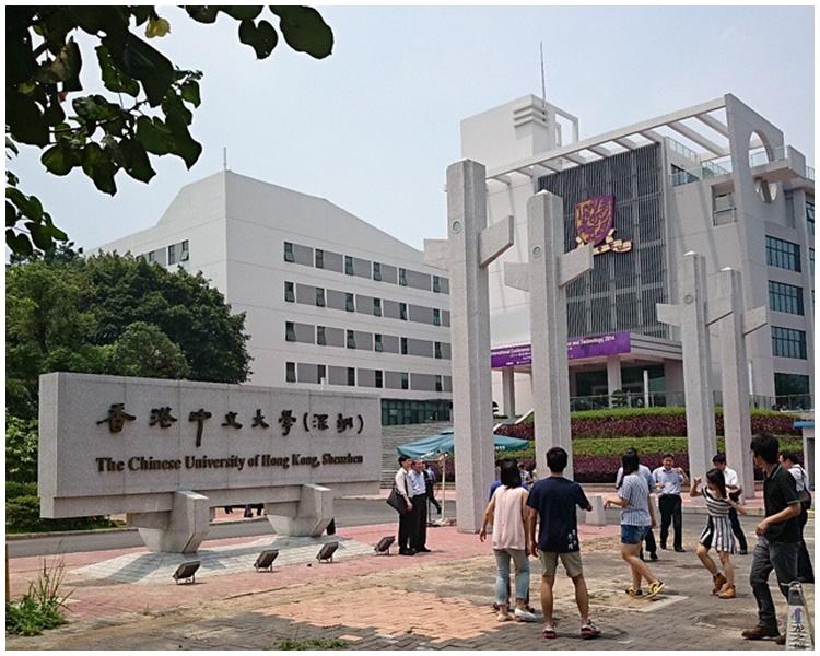 中大生促暂缓开办深圳医学院。网图