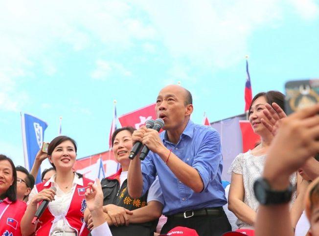 韓國瑜又指,香港的法治一向備受香港社會與各界關注。網圖