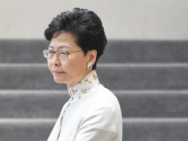 行政長官林鄭月娥。
