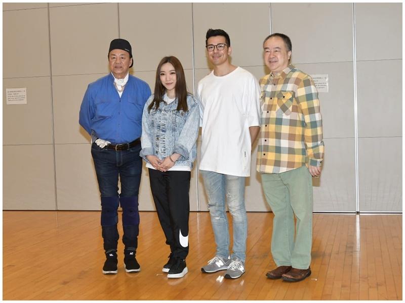 高志森(右)計畫到新加坡公演。