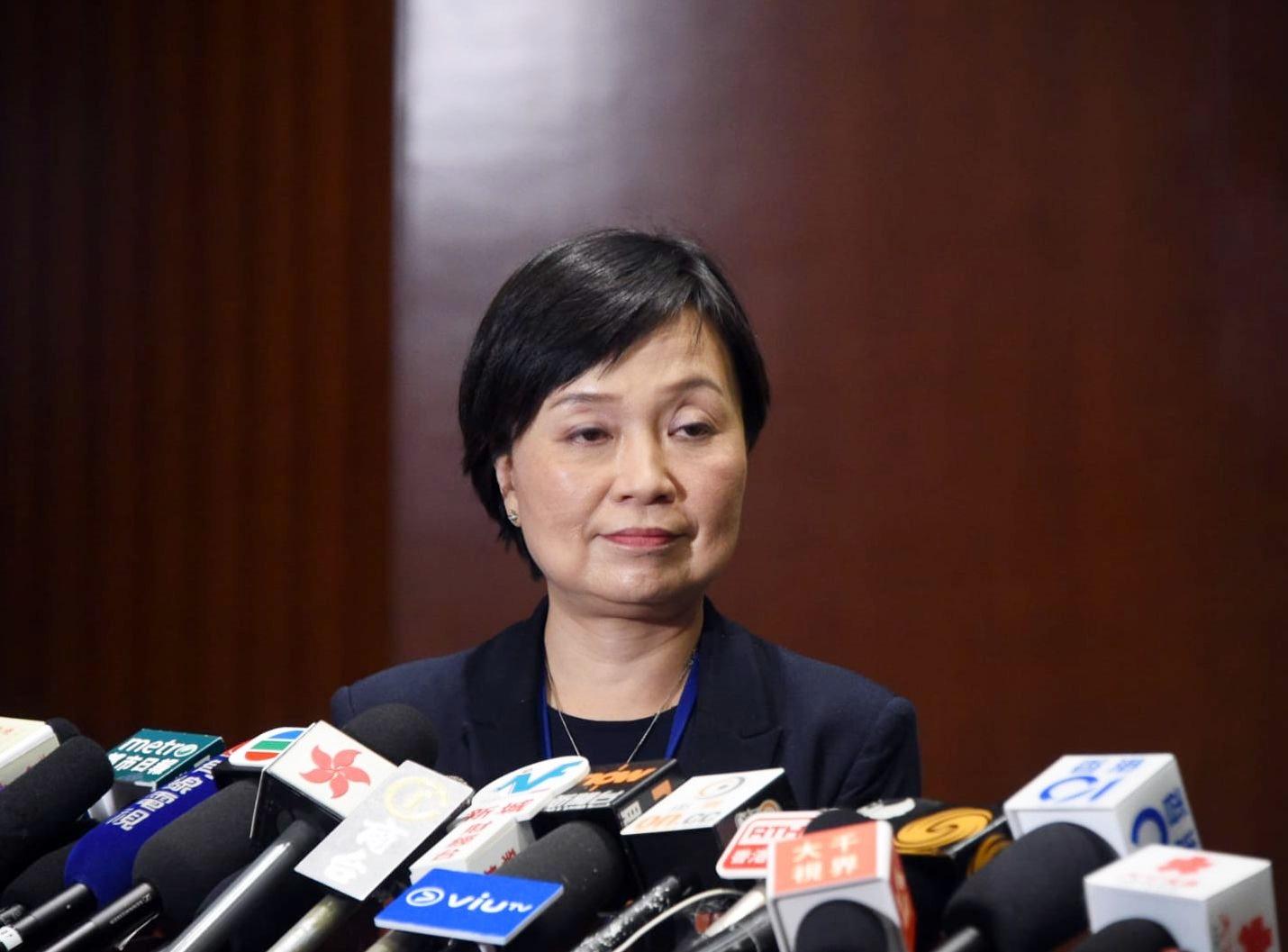 蔡若蓮重申,當局反對罷課。