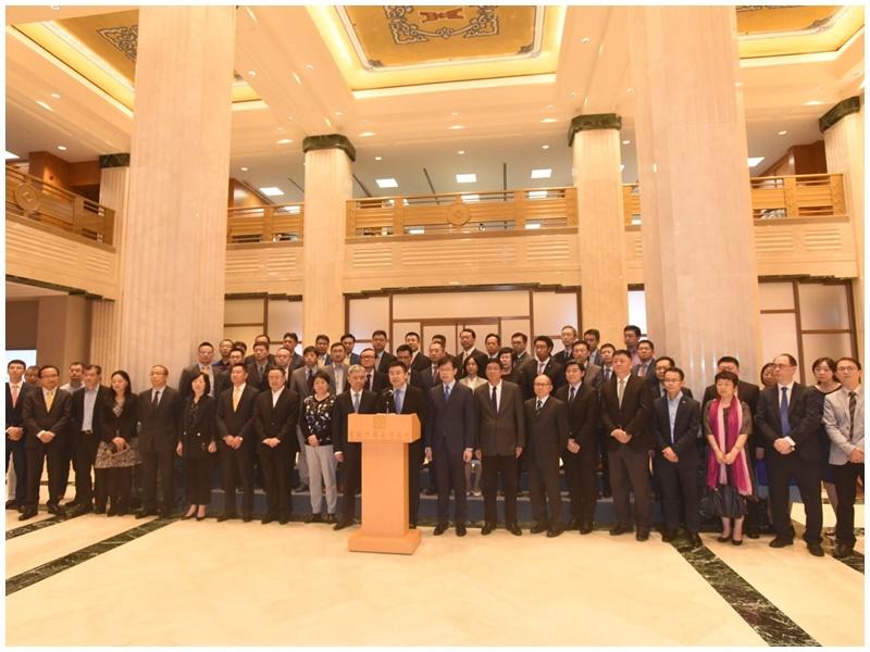 4個中資商界協會支持政府修例。