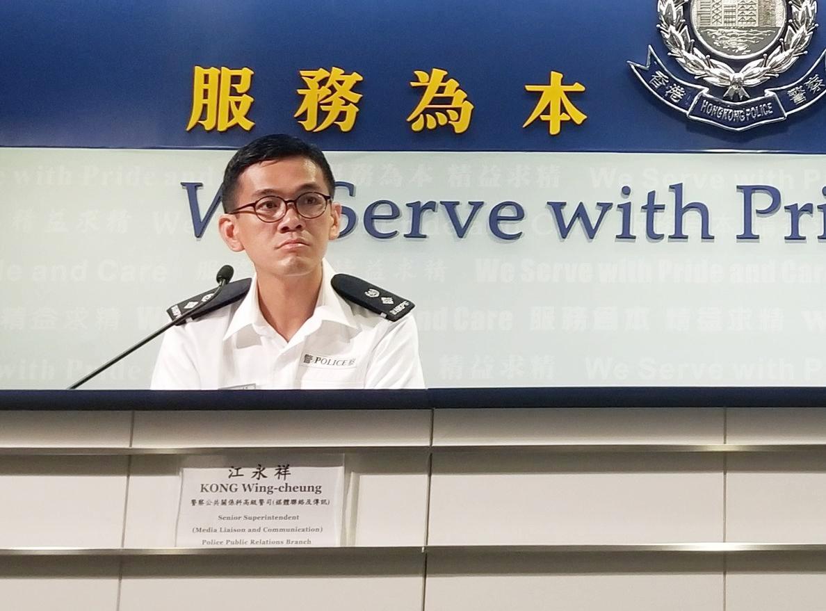 江永祥指,5個團體申請明日在立法會及政府總部一帶舉行公眾集會。