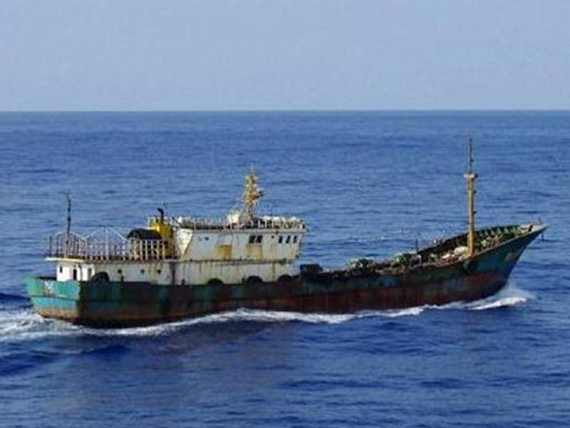 日本橫濱海上保安部6月9日在日本專屬經濟區逮捕一名中國漁船船長。  示意圖片