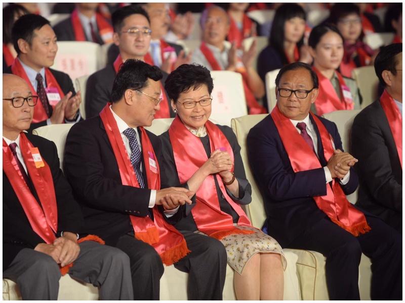 林鄭月娥:本港最近風雨飄搖 曾請求中央理解做事有難度