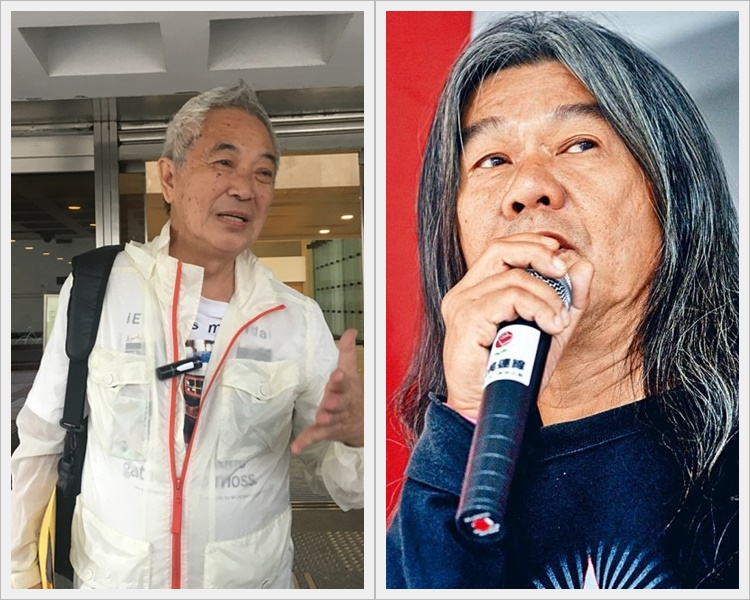 郭卓坚与梁国雄的司法覆核被驳回。资料图片