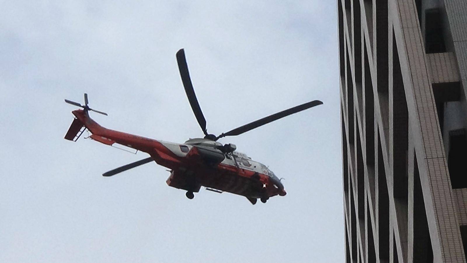 政府飛行服務隊運送的病人或有需要轉送其他醫院。資料圖片