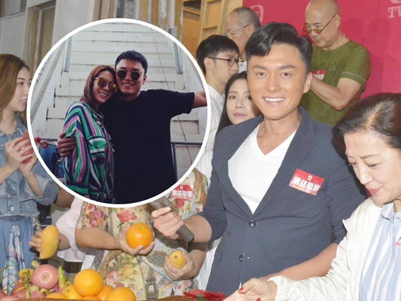 楊明透露想與女友莊思明爸爸食飯。