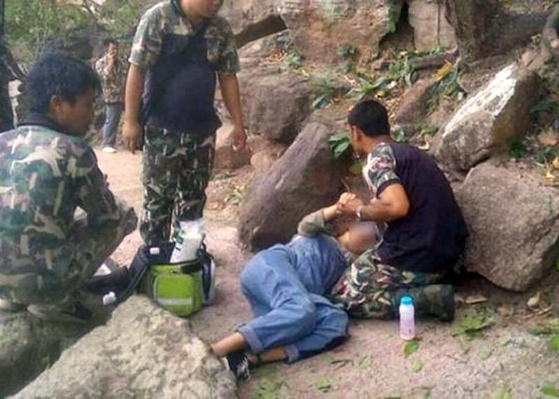 女遊客其後獲救。