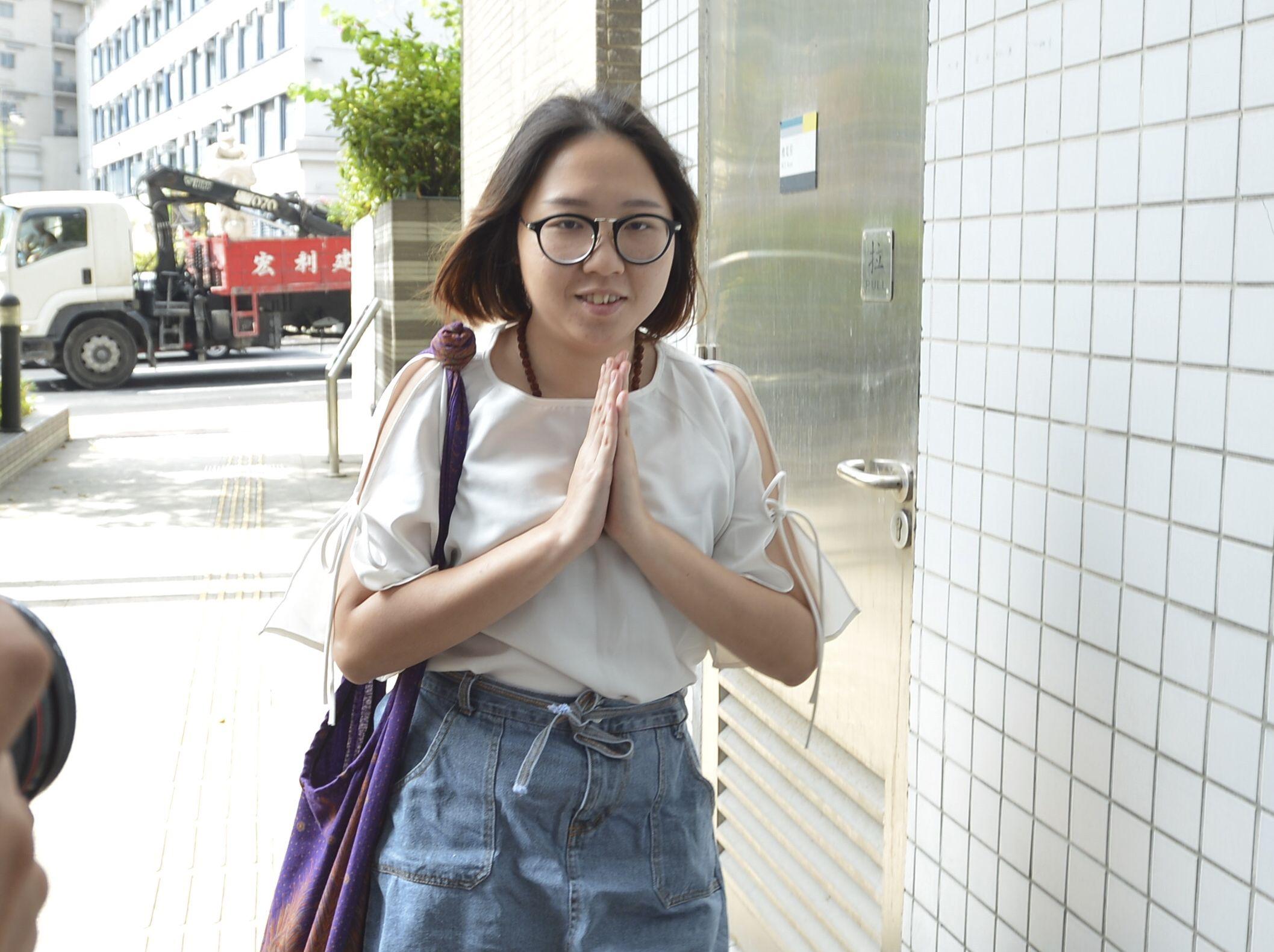 鍾雪瑩藏毒表證成立。資料圖片