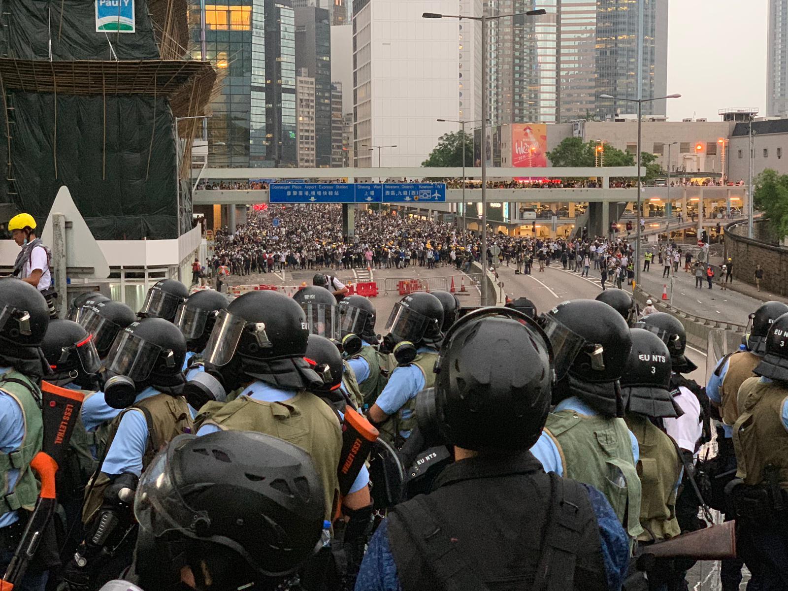 【逃犯條例】促停止製造仇恨 陳卓禧:要向香港歷史負責
