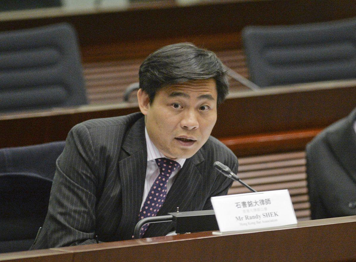 石書銘表示,強烈建議當局暫緩方案,集中先處理台灣移交案。資料圖片