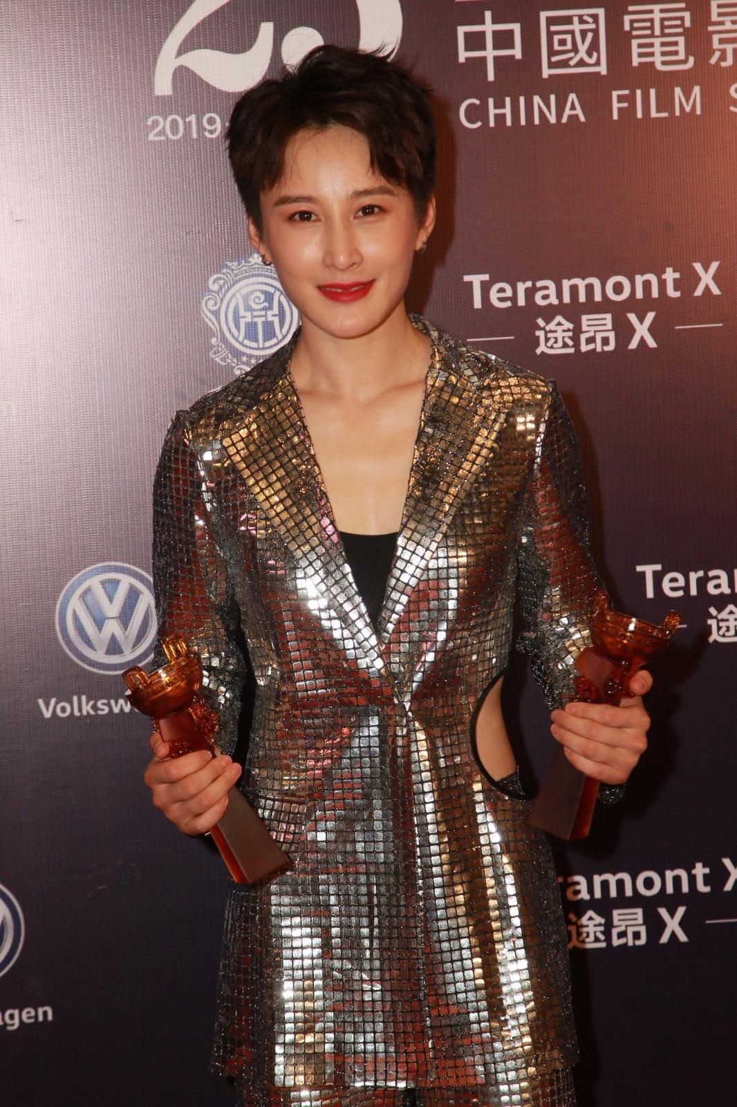 蔣璐霞憑《紅海行動》獲「最佳新銳演員獎」。