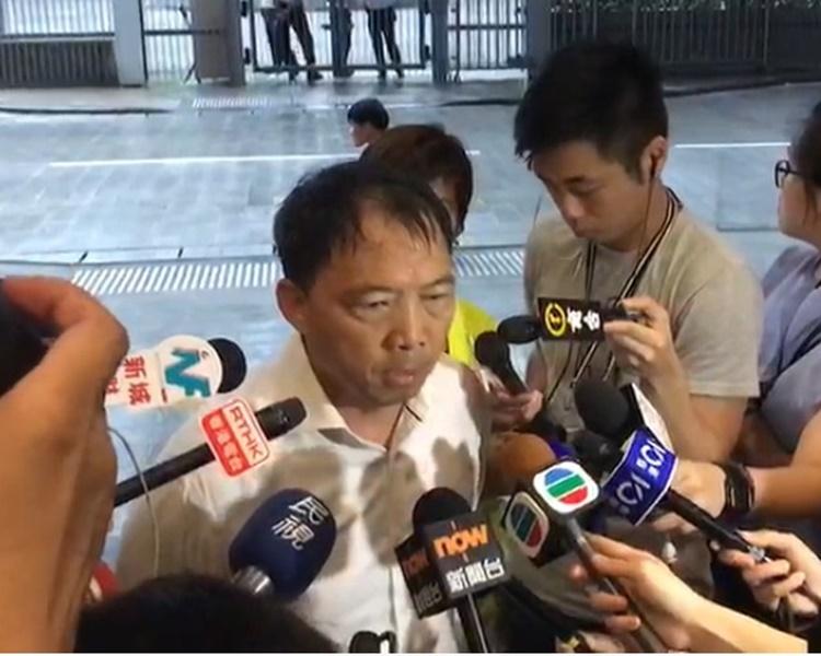 胡志偉批評政府是想重現六四屠城。
