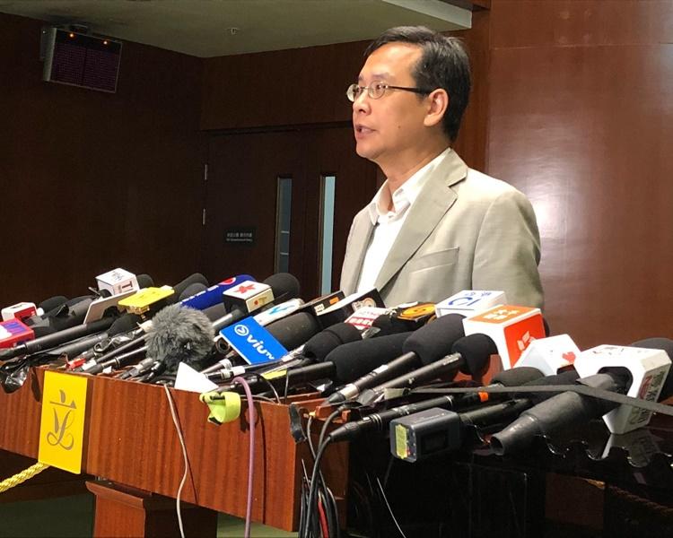 葉建源指強調罷課呼籲對象是老師「罷課不罷教」。