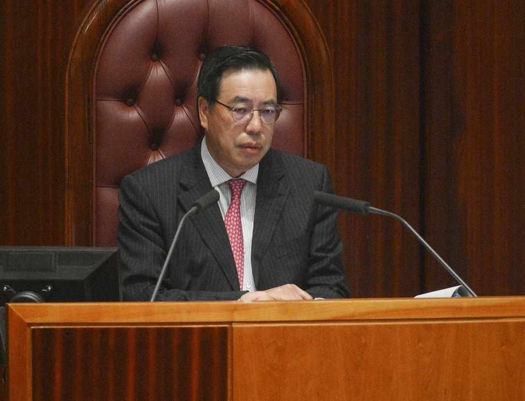 立法會主席梁君彥。 資料圖片
