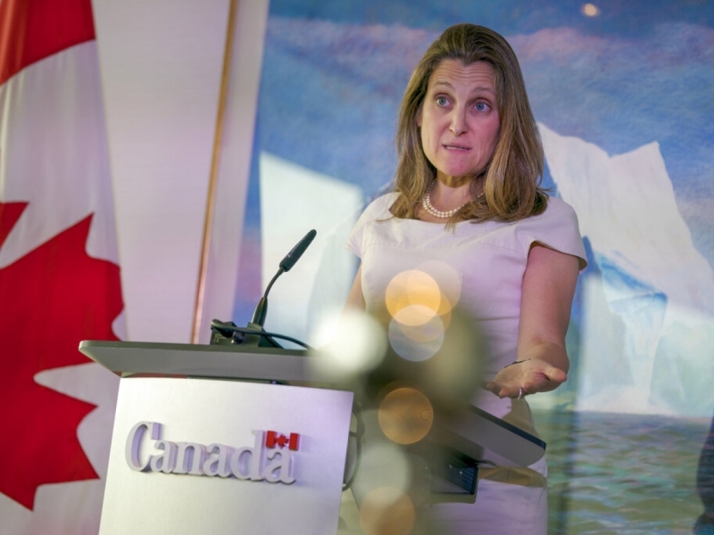 加拿大外長警告如果停止處理華為副董事長孟晚舟的引渡案,將會立下危險先例。AP