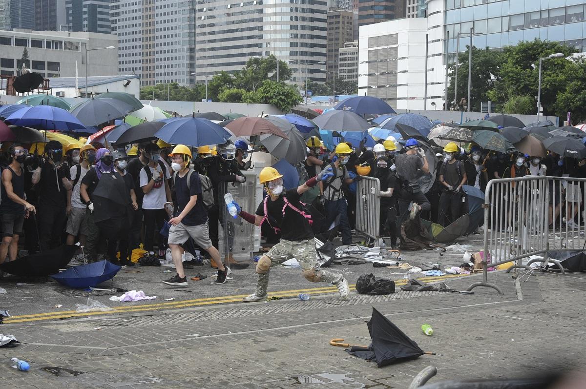 醫學界籲警方避免醫院拘捕示威者。資料圖片