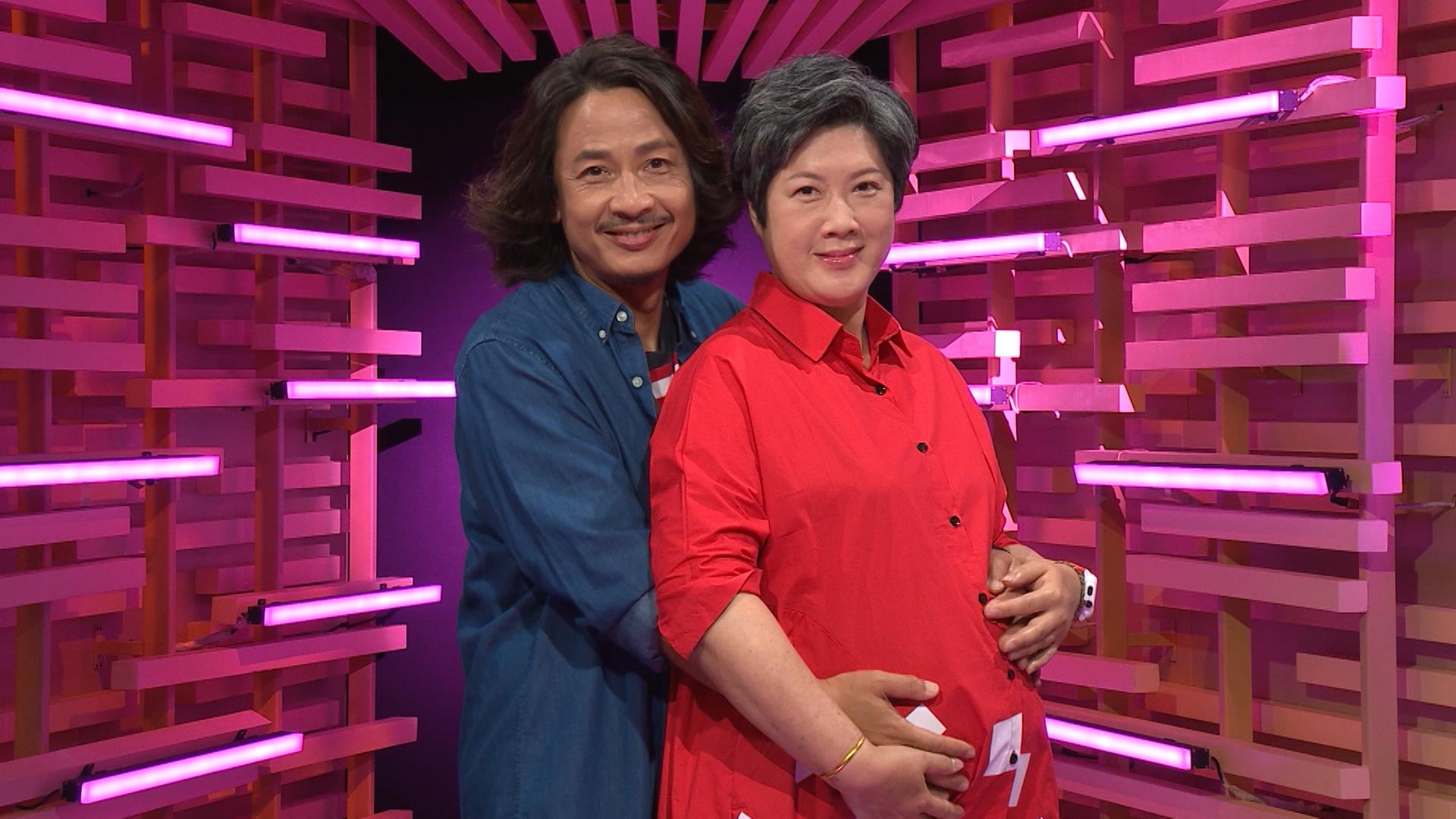 黃澤鋒與太太陳麗麗早前為ViuTV節目《晚吹 - 啪啪Partner》擔任嘉賓。