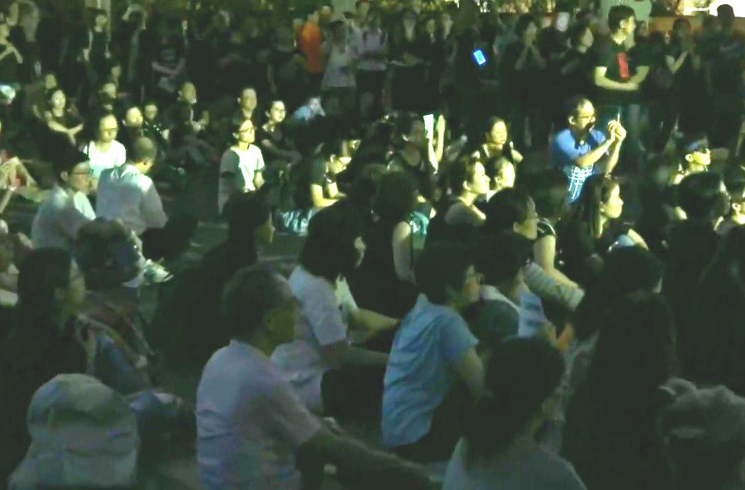 反修訂《逃犯條例》「香港媽媽」舉行集會。網上圖片