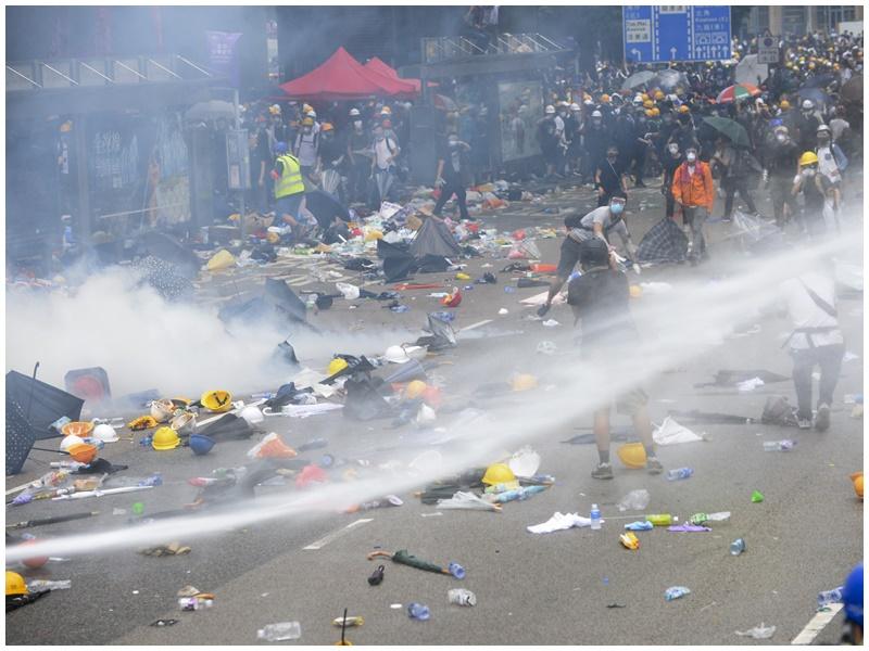 有城大學生因衝突被捕。資料圖片