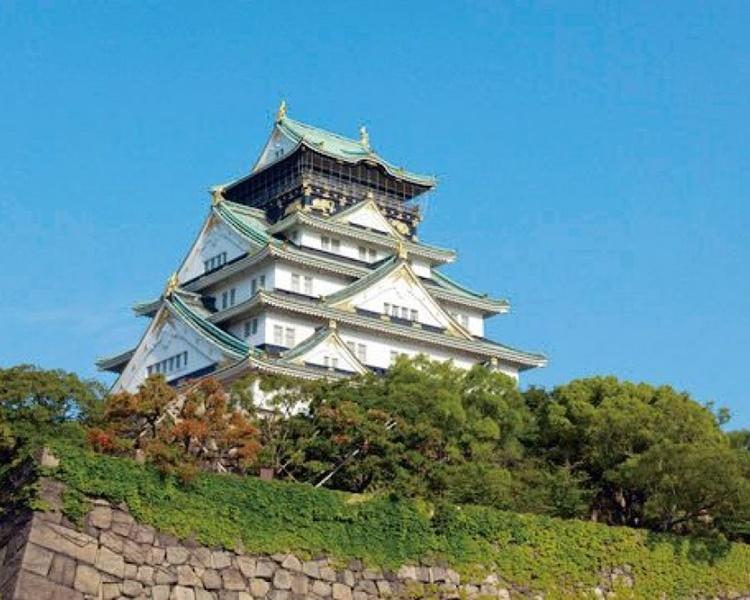 大阪城等景点暂不开放。