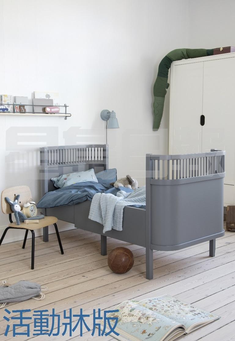 这款Sebra 床由拉脱维亚进口,同样以100%松木製造,配备可调校活动床板,设有多款尺寸,适合初生婴儿至7岁儿童,满足不同家庭所需。