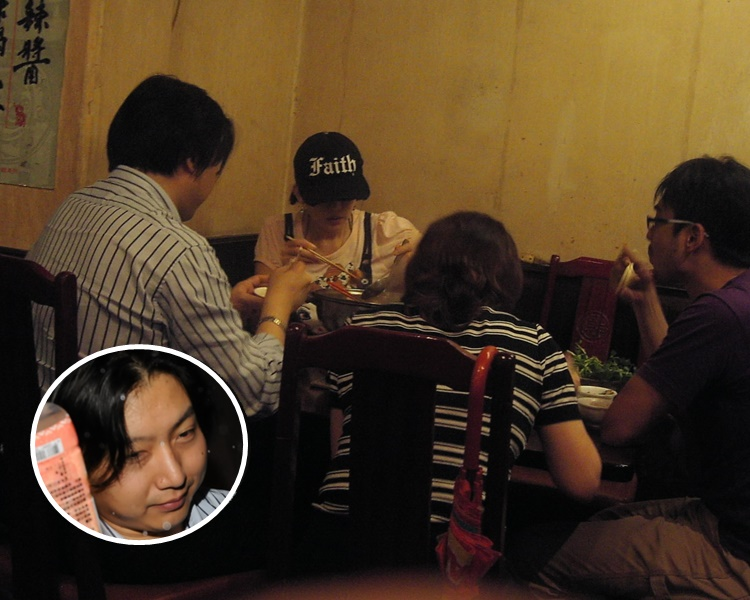 林志玲與邱士楷被拍到一同飯局,爆出緋聞。