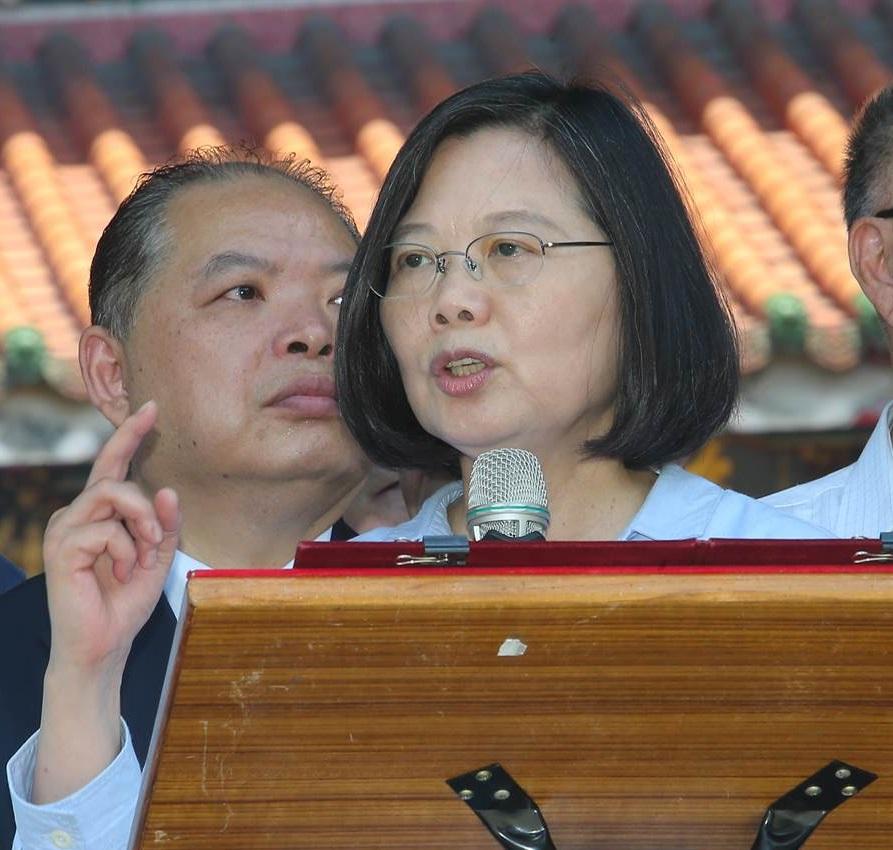 蔡英文批評香港特首說甚麼都是藉口。網上圖片