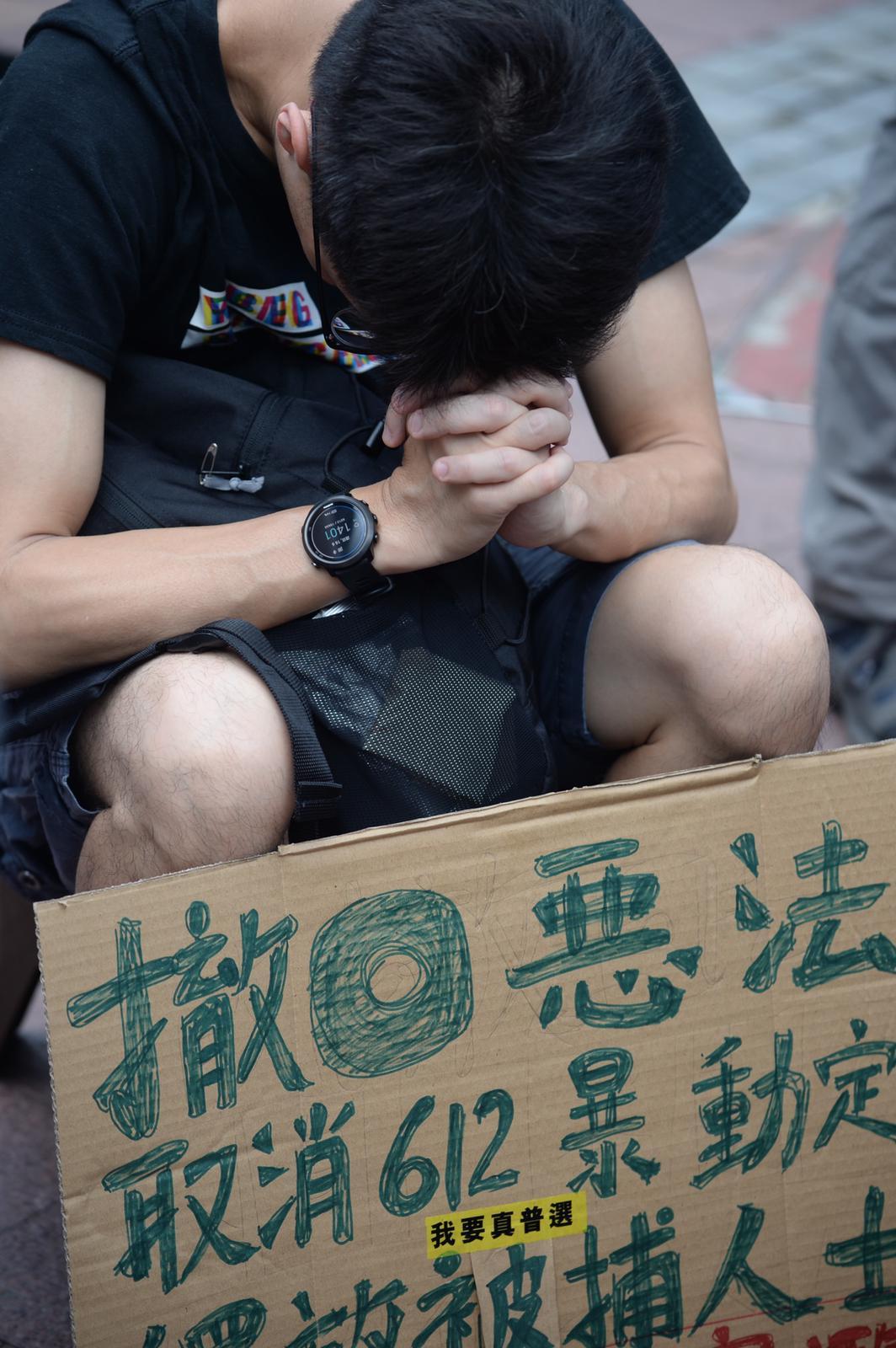 市民要求政府撤回《逃犯條例》修訂。