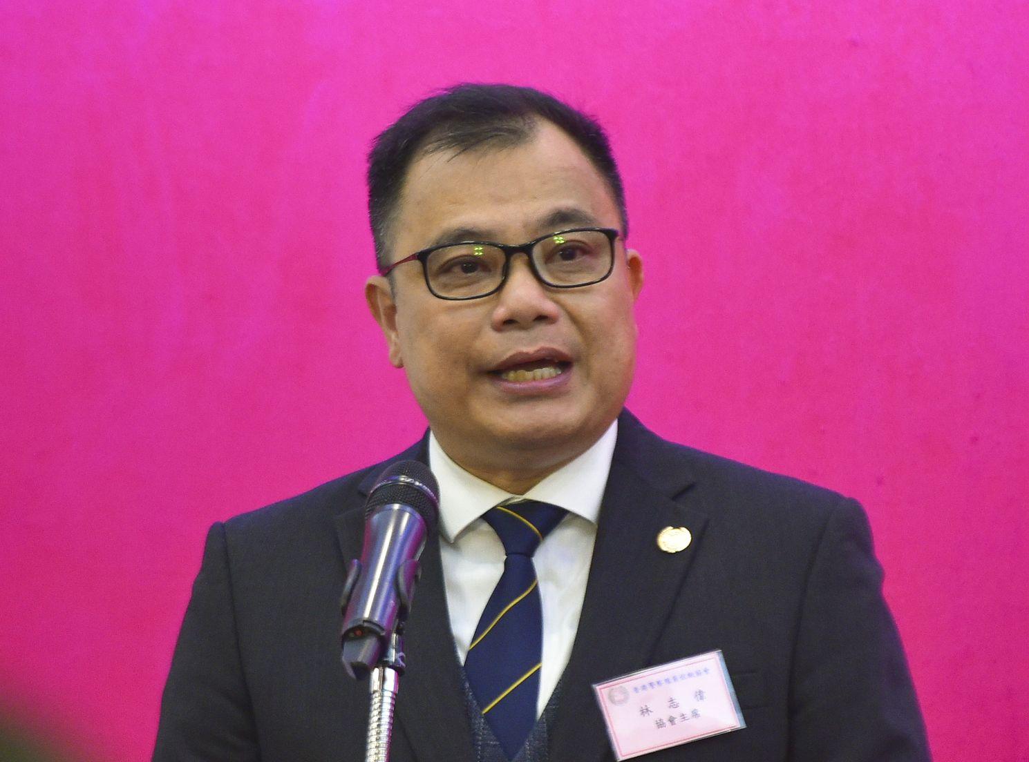 林志偉亦呼籲警員繼續謹守崗位。資料圖片