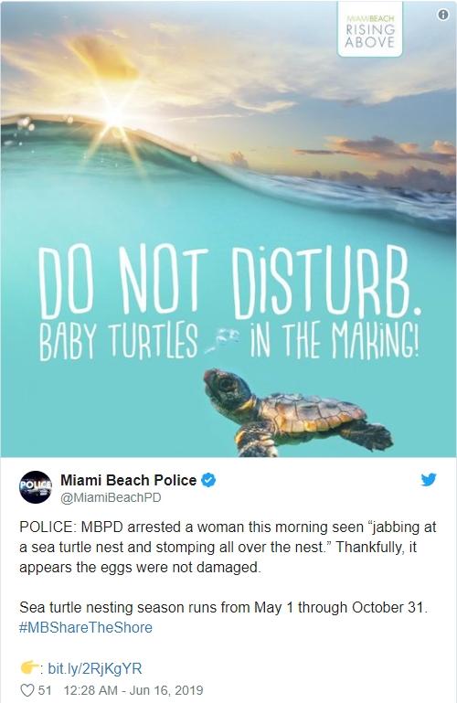 當地警方在Twitter公布盧女被捕。