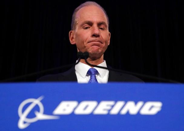 米倫伯格承認處理737 MAX警報系統問題上犯錯。AP圖片