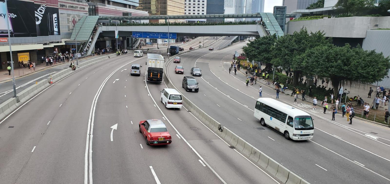 金鐘夏愨道恢復通車。