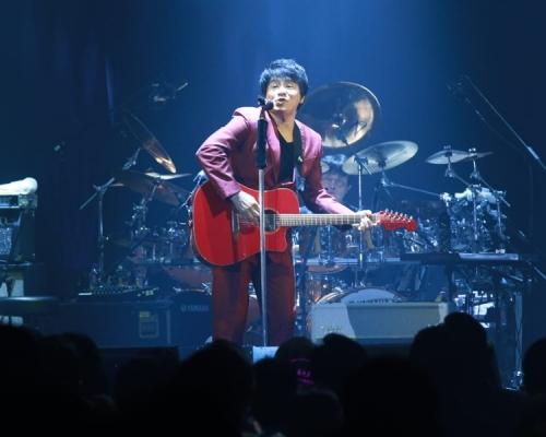 ASKA香港開騷 唱《Y.M.C.A》炒熱全場