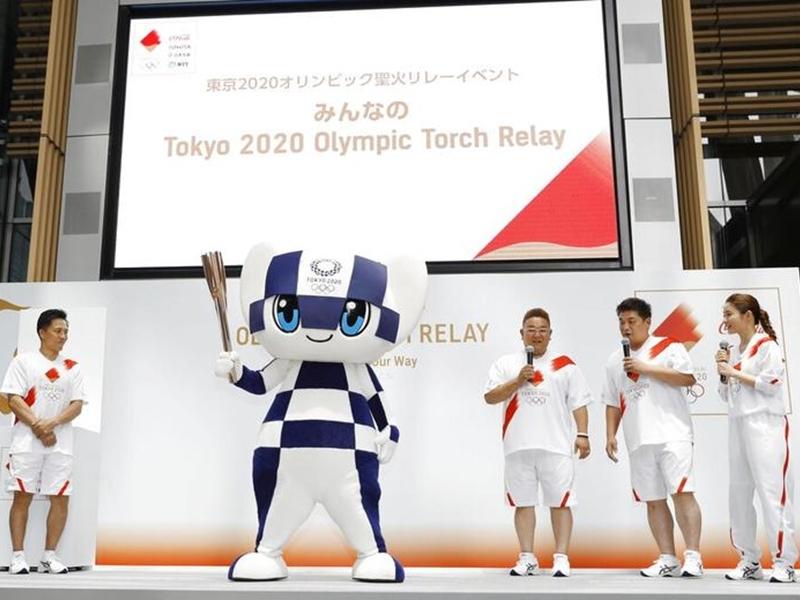 明年东京奥运火炬传递周一开始招募火炬手。 图片