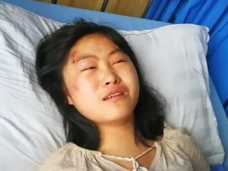3位親人遇難,15歲被救女孩淚謝恩人。(網圖)