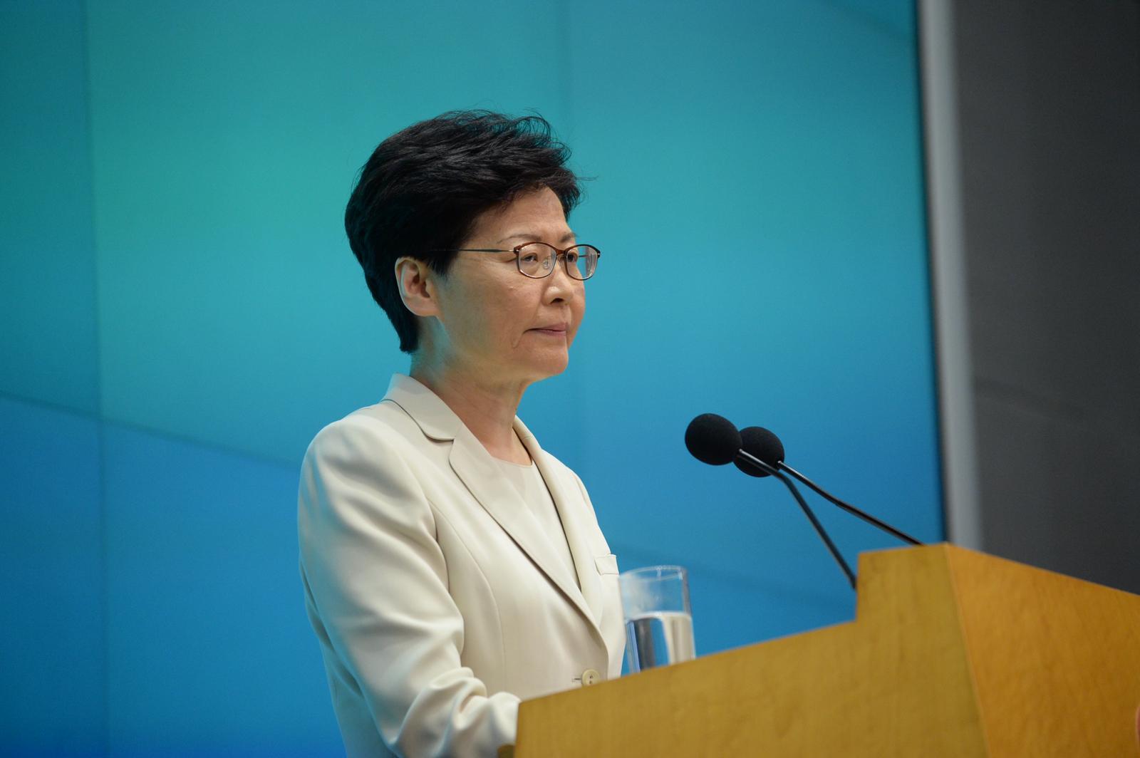 林鄭月娥承認未來管治非常困難。