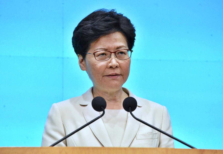 林鄭月娥今午見記者,向市民真誠道歉,但未有如外界期望鞠躬致歉。