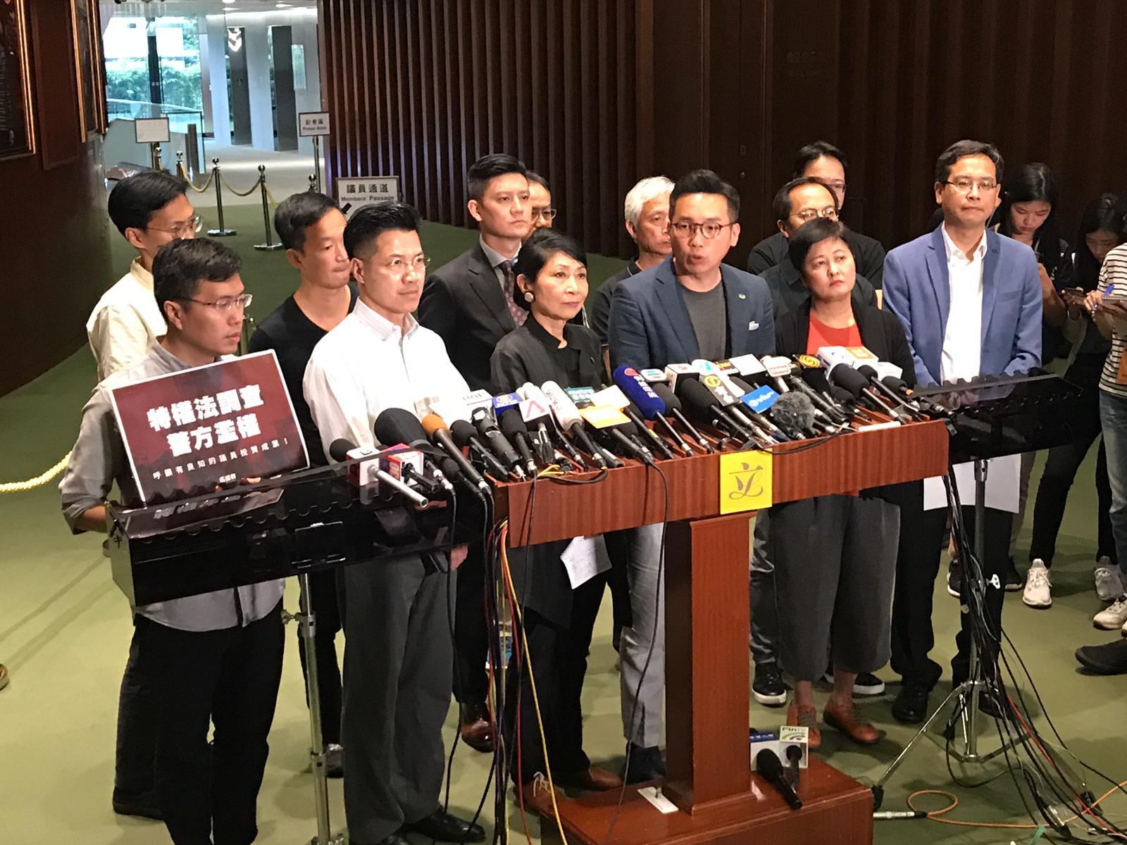 民主派促行政長官林鄭月娥下台並重推政改。