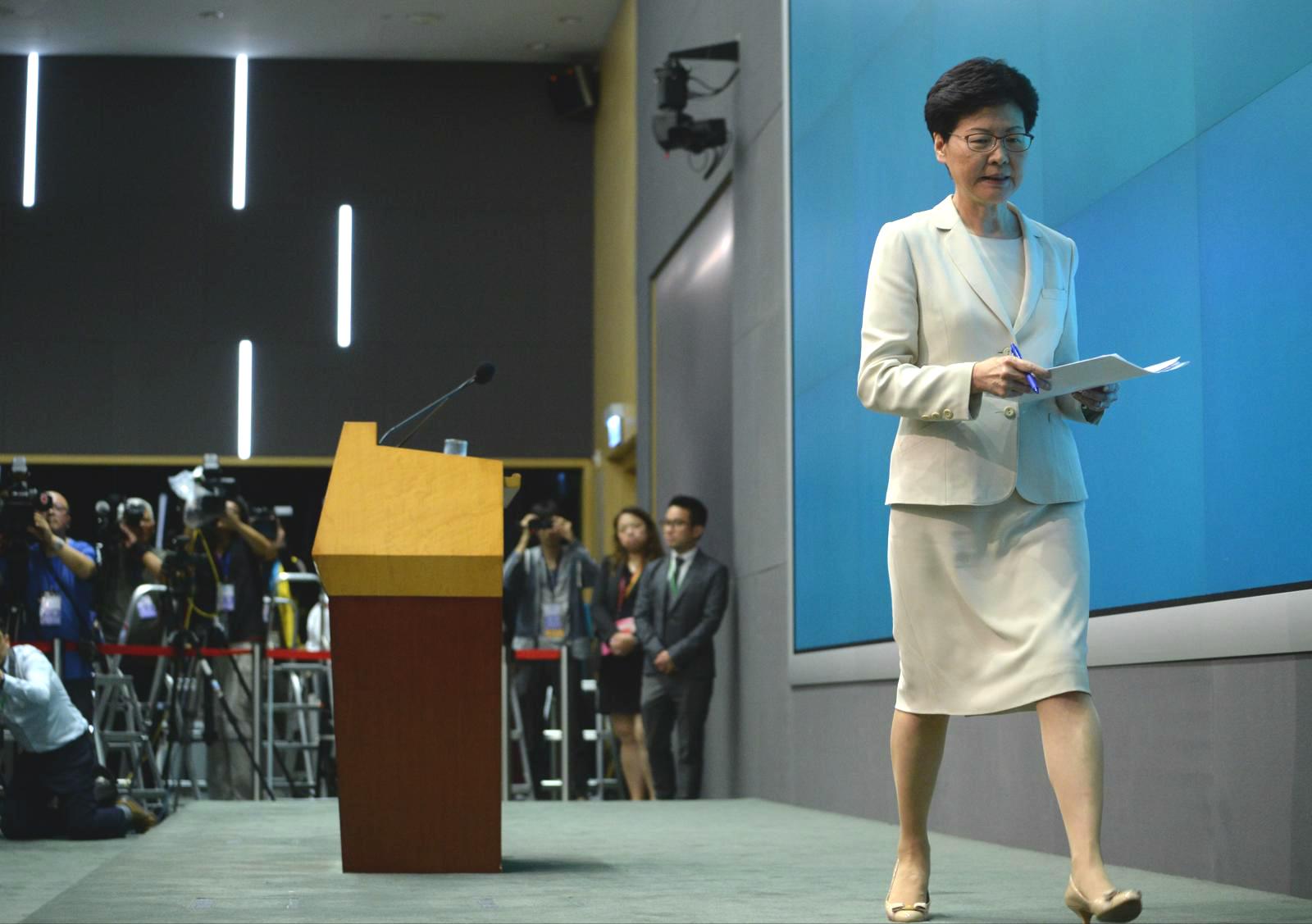 行會非官守議員指會繼續協助林鄭月娥施政。