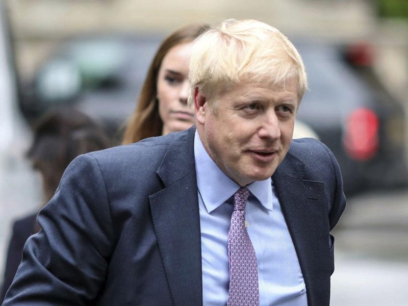 英國前外交大臣約翰遜,於保守黨第2輪黨魁投票中贏得40%選票。 AP